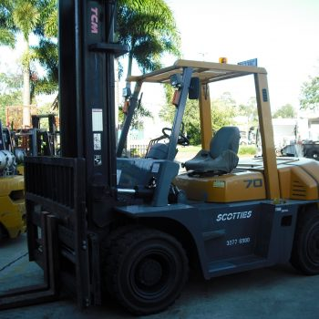 TCM FG70Z8 - Scotties Forklift Hire Coopers Plains Brisbane