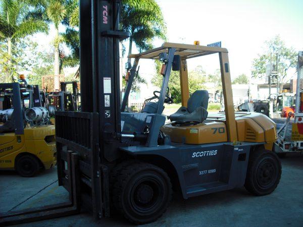 TCM FG70Z8 - Scotties Forklift Hire Coopers Plains Brisbane
