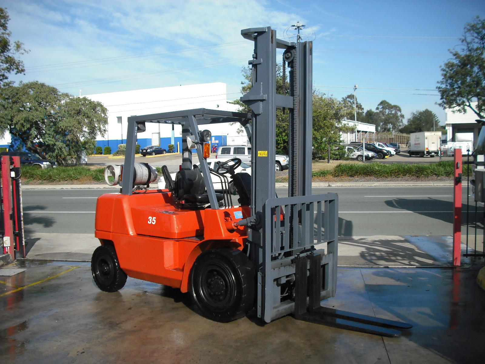 Nissan FO4G4OUT Forklift 4.5m Unit 805 For Sale - Scotties Forklifts - Coopers Plains, Brisbane