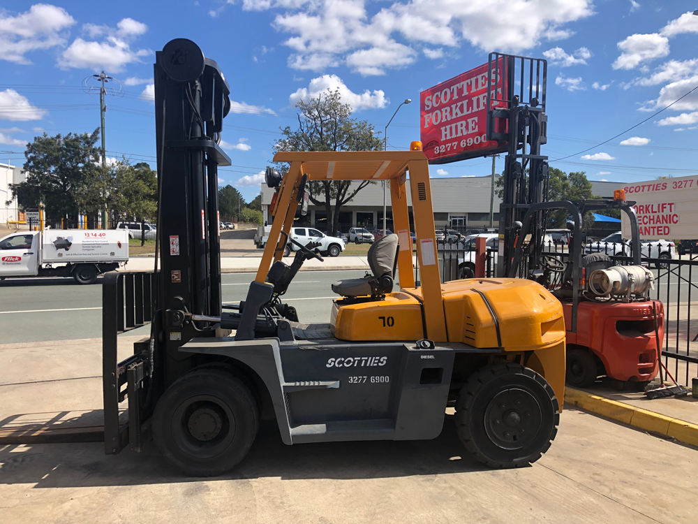TCM-FD70 Forklifts for Hire - Scotties Forklift Hire, Coopers Plains, Brisbane