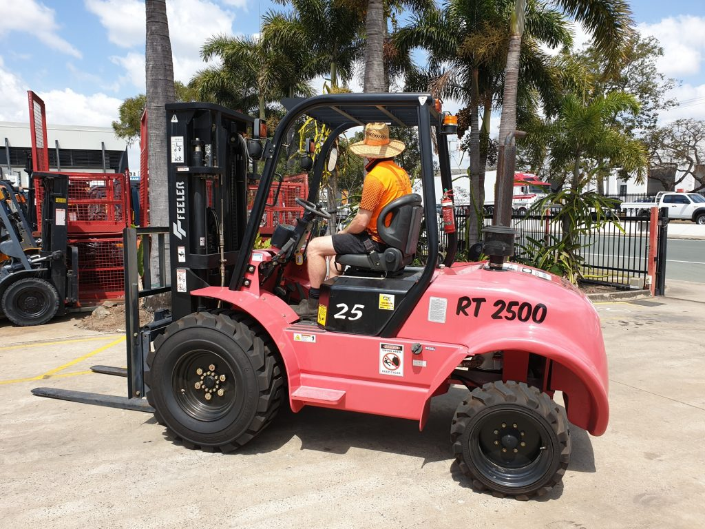 Forklift for Rough Terrain FD25 for Sale - Scotties Forklift Hire Coopers Plains